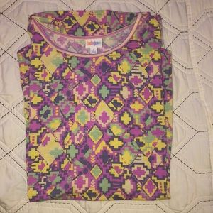 LulaRoe Women's high-low shirt